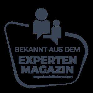 Experten Talkshow LOGO: Bekannt aus dem Experten-Magazin