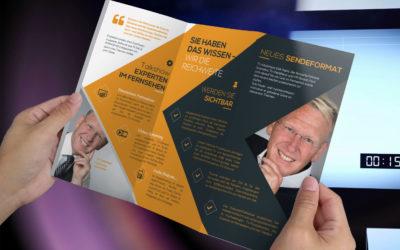 TV-Moderator Dirk Rabis geladen zum Wirtschaftsgipfel