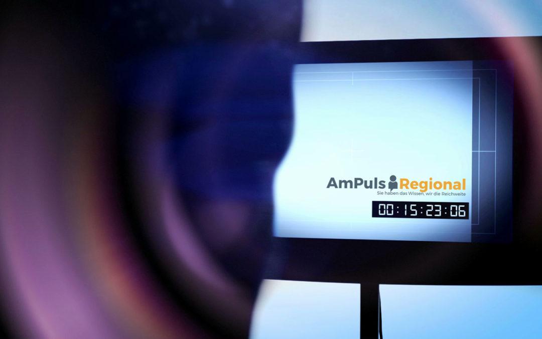"""Kommen Sie ins Fernsehen mit """"AmPuls"""" Regional"""