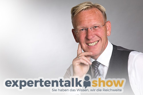 expertentalkshow TV-Moderator Dirk Rabis