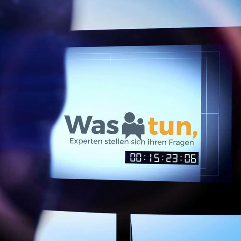 expertentalkshow: Was tun,..? Ihre TV-Talkshow für Experten und Talkshow Marketing - Referenzmonitor